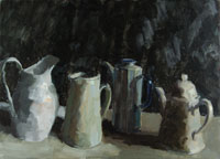 Four White Pots 200x144