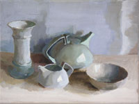 Still Life with Teapot 200x150