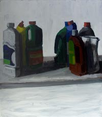 Two groups of bottles 200x230