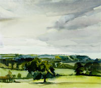 Towards North Downs 200x174