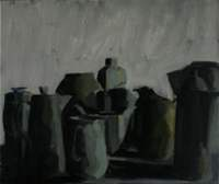 White pots green light 200x168