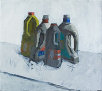 Four plastic bottles 200x179