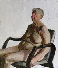 Seated Nude VII 200x234